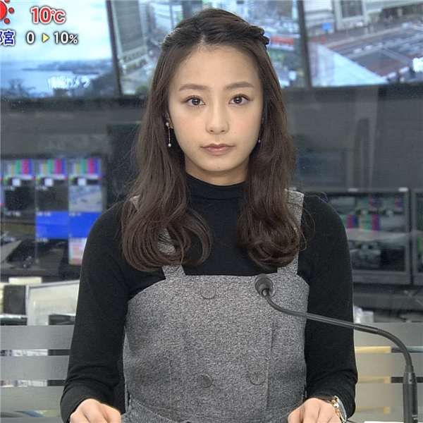 【画像GIF】宇垣美里が可愛すぎるんだが