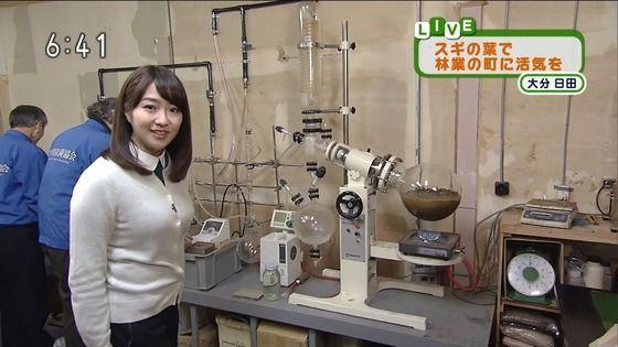 【画像】NHKの副島萌生アナが色白むっちり巨乳でヤバい