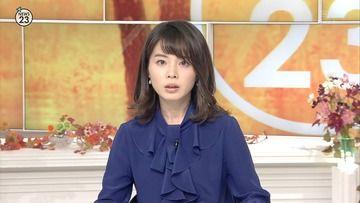 皆川玲奈 宇内梨沙(TBS)171030 NEWS23
