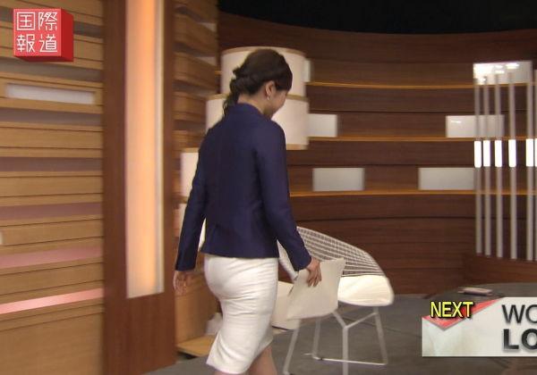 【エロキャプ】TVに映ったパンツの形がモロわかり放送事故エロすぎwwwwwwwwwwwwwwwwwww