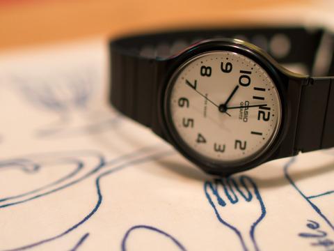 モノ撮り [時計] : PEN E-P3 + AF-S NIKKOR 28mm f/1.8G