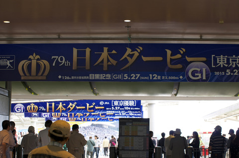 散策 [東京競馬場] : PENTAX K-r + SMC PENTAX DA* 50-135mm F2.8 ED AL [IF] SDM