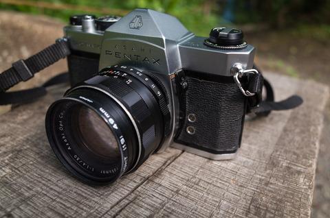 機材 [沼] :レンズ沼&カメラ沼へ・・・。(22) - PENTAX SP + Super-Takumar 50mm f/1.4 -