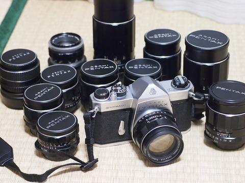 機材 [沼] :レンズ沼&カメラ沼へ・・・。(18) - PENTAX SP + Super-Takumar 50mm F1.4-