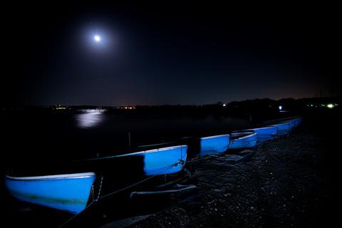 遠征 [印旛沼/夜] : D800E + AF-S NIKKOR 16-35mm F4G ED VR