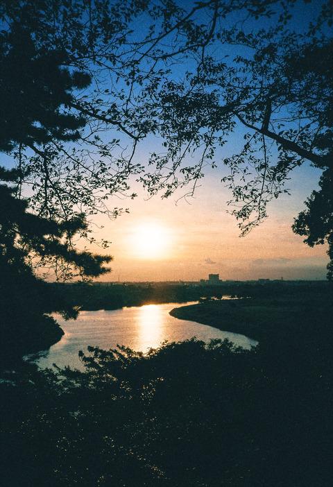 散策 [多摩川] : CONTAX T3
