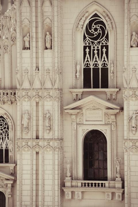 散策 [東武ワールドスクウェア/ミラノ大聖堂] : D800E + AF-S NIKKOR 70-200mm f/2.8G ED VRII