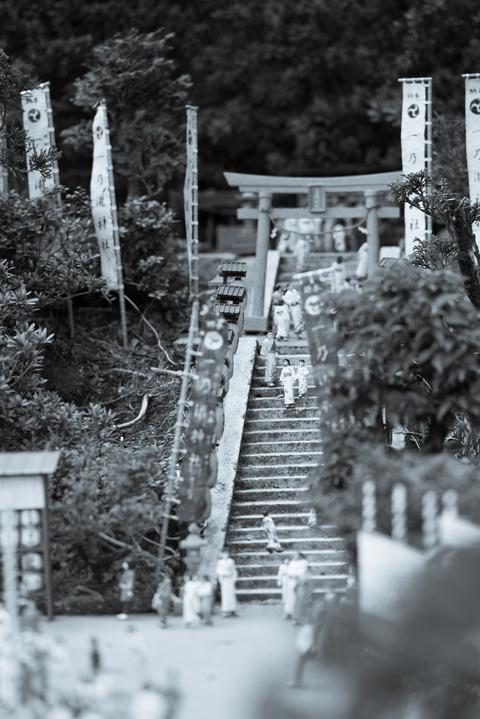 散策 [東武ワールドスクウェア/神社の祭り] : D800E + AF-S NIKKOR 70-200mm f/2.8G ED VRII