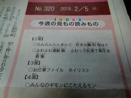2019.03.07   花と新聞DSCN9414