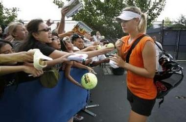 マリア・シャラポワ 全米オープン 115