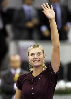 マリア・シャラポワ WTAツアー選手権 1011