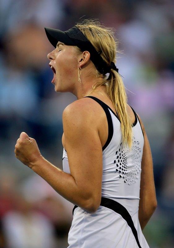 マリア・シャラポワ 全米オープン 4002