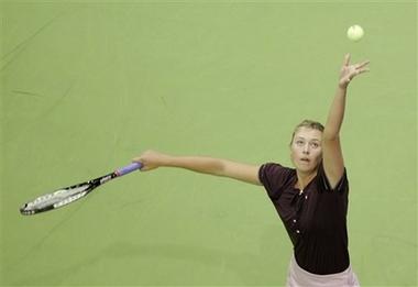 マリア・シャラポワ WTAツアー選手権 1004