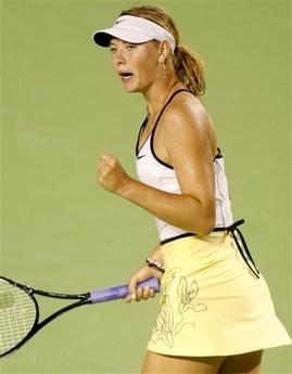マリア・シャラポワ 全豪オープン 3015
