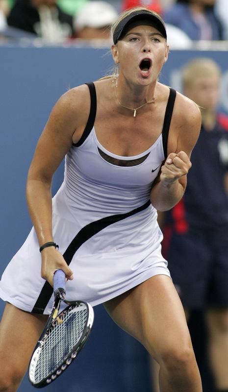 マリア・シャラポワ 全米オープン 4003