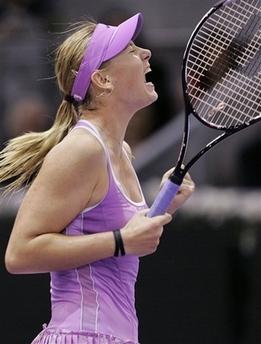 マリア・シャラポワ WTAツアー選手権0025