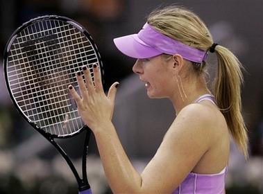 マリア・シャラポワ WTAツアー選手権3010
