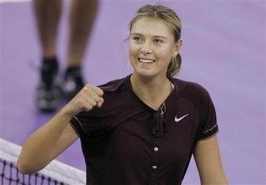 マリア・シャラポワ WTAツアー選手権 3005