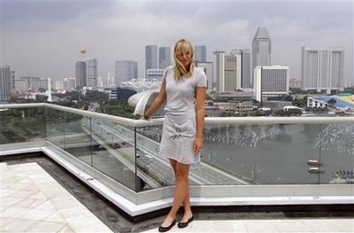 マリア・シャラポワ シンガポール