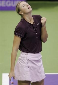 マリア・シャラポワ WTAツアー選手権 4001