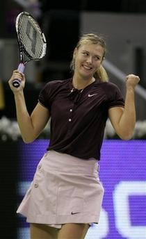 マリア・シャラポワ WTAツアー選手権 1009