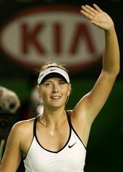 マリア・シャラポワ 全豪オープン 3018