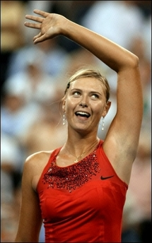 マリア・シャラポワ 全米オープン 113