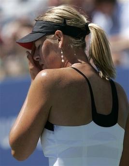 マリア・シャラポワ 全米オープン 301