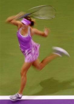 マリア・シャラポワ WTAツアー選手権3004