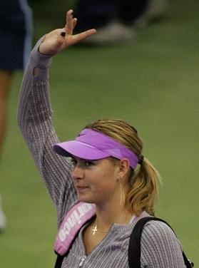 マリア・シャラポワ WTAツアー選手権4004
