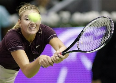 マリア・シャラポワ WTAツアー選手権 2009