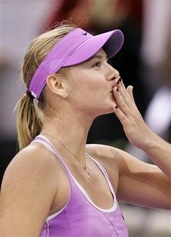 マリア・シャラポワ WTAツアー選手権0026