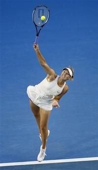 マリア・シャラポワ 全豪オープン   マリア・シャラポワ ダベンポートに圧勝:全豪オープン