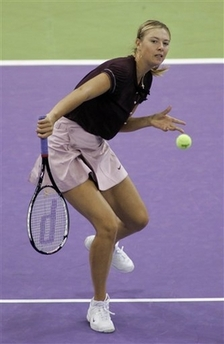 マリア・シャラポワ WTAツアー選手権 2008