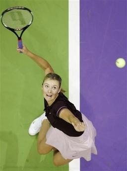マリア・シャラポワ WTAツアー選手権 1001