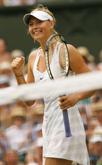 マリア・シャラポワ ウィンブルドン選手権2006年014