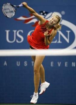 マリア・シャラポワ 全米オープン 107