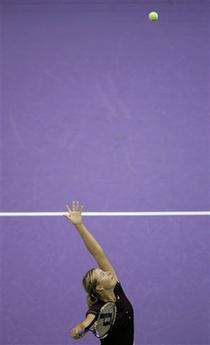 マリア・シャラポワ WTAツアー選手権 2001