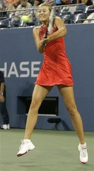 マリア・シャラポワ 全米オープン 208
