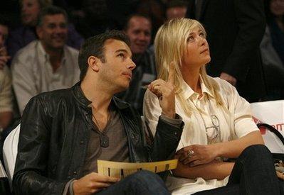 マリア・シャラポワ、NBAバスケットボール観戦