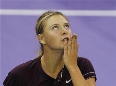 マリア・シャラポワ WTAツアー選手権 4005