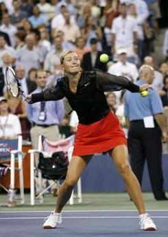 マリア・シャラポワ 全米オープン 106