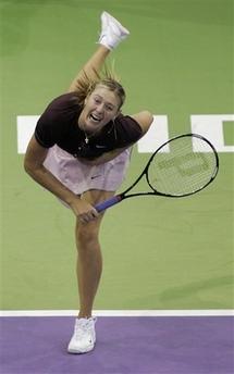 マリア・シャラポワ WTAツアー選手権 2002