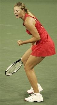 マリア・シャラポワ 全米オープン 210