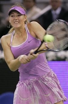 マリア・シャラポワ WTAツアー選手権3005