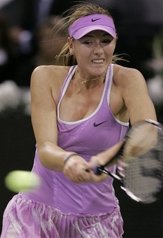 マリア・シャラポワ WTAツアー選手権3007
