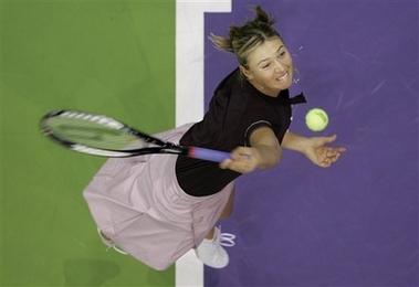 マリア・シャラポワ WTAツアー選手権 2003