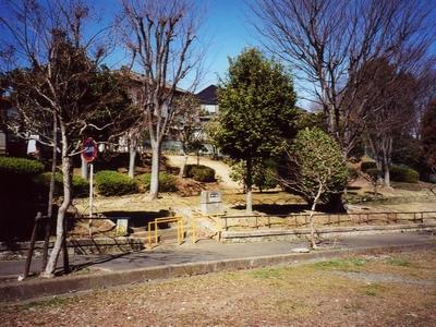 八王子・みつい台の公園。