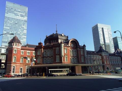 東京駅2016年3月
