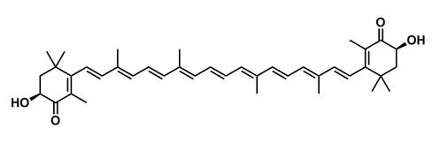 Astaxanthin structure